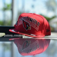 topi snapback fitted cardinal Arizona cap original import   hat 32d3bce0d9