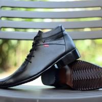 Sepatu Formal Kickers Pria / Sepatu Pantofel Tali Kulit Murah