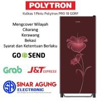 New Belleza Polytron Kulkas 1 Pintu PRO 18 GORF/18GORF