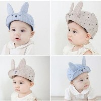 Topi Bayi Topi Anak Topi Fashion Bunny Baby Hat Cap Baseball