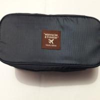 Monopoly Tas Trevel Travel Underwear Pouch organizer pakaian daalam