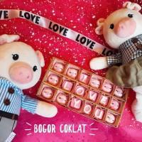 Coklat Valentine Piggy