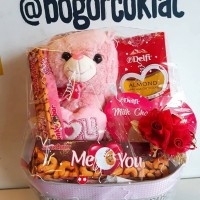 Parsel Valentine Coklat I Love You