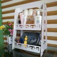 Rak KosmetiK DIY Desktop Storage DIY Serbaguna A628