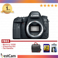 CANON EOS 6D Mark II BODY ONLY - FREE Accessories