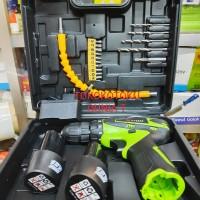 Mesin Bor Baterai Cordless Drill Nankai 12V