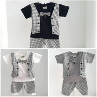 OZK Baju Pesta Kondangan Rompi Dasi Kupu Anak Bayi Laki-Laki