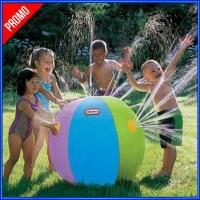 Bola Air Spray Sprinkler Water Ball Smash It Toys - Multi Warna