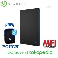 Seagate 2TB External HDD Limited Edition - Exclusive for Tokopedia