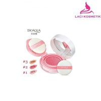 Peach Pink 02 - BIOAQUA Blush on Cushion Flawless Cheek
