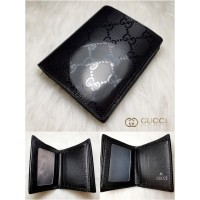 Dompet Kulit Pendek Branded Import Leather Cowok Pria Gucci Murah 05