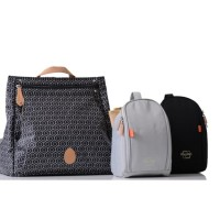 Pacapod Diaper Bag Lewis - Black