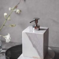 Botol Sabun Marmer / Marble Soap Bottle