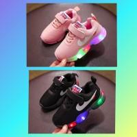 feaec518f7028 Update Harga Sepatu Anak Led Sz 21-30 Import Model Nike Classic Di ...