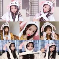 Topi Kelinci Telinga Bergerak Rabbit Ear Hat Dancing Bunny Tik Tok 146