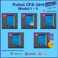 PAKET CFA 2019 Schweser Level 2 (5 Buku + Quicksheet Berwarna)Non Ori