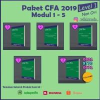 PAKET CFA 2019 Schweser Level 1(5 Buku + Quicksheet Berwarna)Non Ori