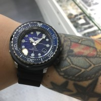 SEIKO PROSPEX TUNA SNE518P1 SPECIAL EDITION SAVE THE OCEAN ORIGINAL