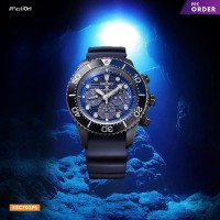 SEIKO PROSPEX SAMURAI SRPD09K1 SAVE THE OCEAN ORIGINAL