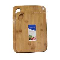 Atria Bamboo Cutting Board Rect Set 2