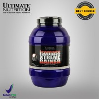 ISO MASS XTREME GAINER, 10.11 lbs Strawberry - ULTIMATE NUTRITION.