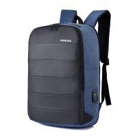 Ransel Tas Import Tas Fashion Bagpack Biru Tas Murah Cowok 87088