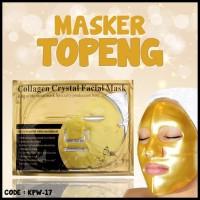 Harga hot deal promo masker topeng gold bio collagen facial mask masker | Pembandingharga.com