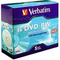 DVD-RW VERBATIM 4X