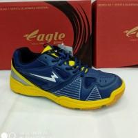 sepatu badminton murah eagle marcus navyterbaru dan original c9056b990f