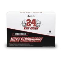ASICS LAB BPOM HALAL Whey Protein Rasa Strawberry 5 Sachet