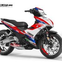 Decal stiker Yamaha Mx King Ducati Desmo GP
