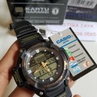 Jam Tangan Casio SGW-400H-1B2VDR, dgn altimeter, termometer, barometer