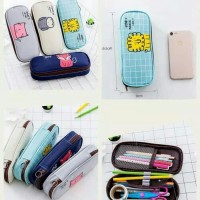 Dompet pensil cute animal edition