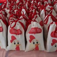Tas / Pouch / Ransel / Backpack / Totebag Blacu Belacu - Ayam Chicken