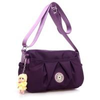 Fiona Cute Candy Color Nylon Crossbody Bag Tas Selempang Nilon
