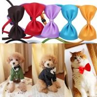 Kalung Dasi Kucing Anjing/ Pet Cat dog formal bow tie collar SALE