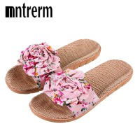 Xiuteng 2018 Hot Marketing Summer Bathroom Slipper Indoor Home Women