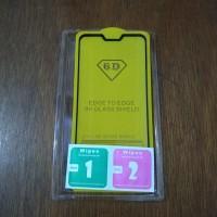 Tempered Glass Full Cover 6D Asus Zenfone Max M2 Pro Full Lem
