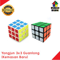 Rubik Yongjun 3x3 / Rubik 3x3 / Rubik Murah / Rubik Guanlong