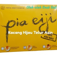 Free Bubblewrap! Pia Eiji Kacang Hijau Telur Asin isi 8 pcs