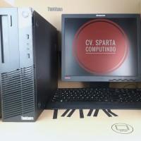 Paketan CPU lenovo core i5 4570 ram 4gb lcd 17 in fulset