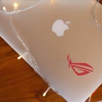 Decal Sticker Macbook Stiker Asus ROG Republic of Games Stiker Laptop