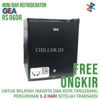 Kulkas Mini Portable GEA RS-06DR Hitam Free Ongkir