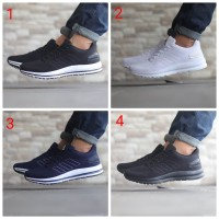 e8505aa0a Sepatu Sneakers Pria Adidas Pureboost Pure Boost Man Import Promo