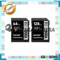 Harga memori lexar sd 1000x uhs ii sdxc memory card kamera | Pembandingharga.com