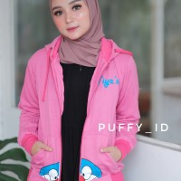 Jaket doraemon stand by me pink