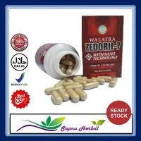 Obat Kanker Tenggorokan - Walatra Zedoril 7 Kapsul