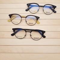 Frame Kacamata Minus Moscot 504 Bulat Pria Wanita