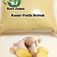 Harga jamu herbal tradisional kunyit putih bubuk 250 gr untuk   Pembandingharga.com