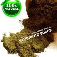 Harga jamu herbal tradisional tanaman obat daun sambiloto bubuk | Pembandingharga.com